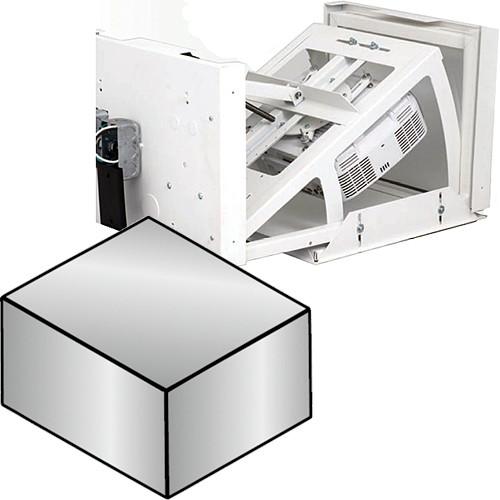 "Da-Lite 7466E 26P Pivot Motorized Projector Lift with Plenum Cover (16 x 13.63 x 25.38"", 220V, 50Hz)"