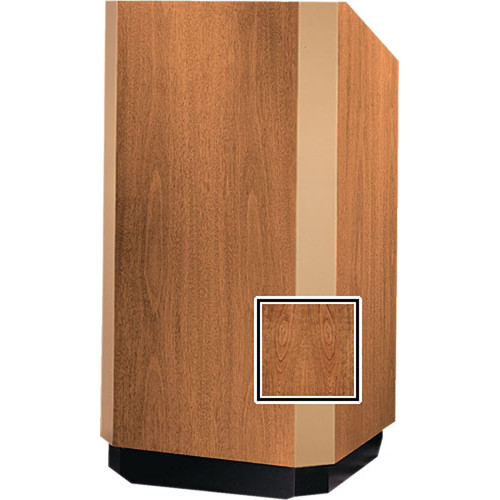 Da-Lite 42-in. Floor Model Yorkshire Lectern - Cherry