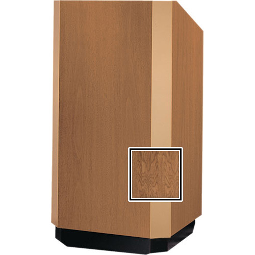 Da-Lite 32-in. Floor Model Yorkshire Lectern - Natural Walnut