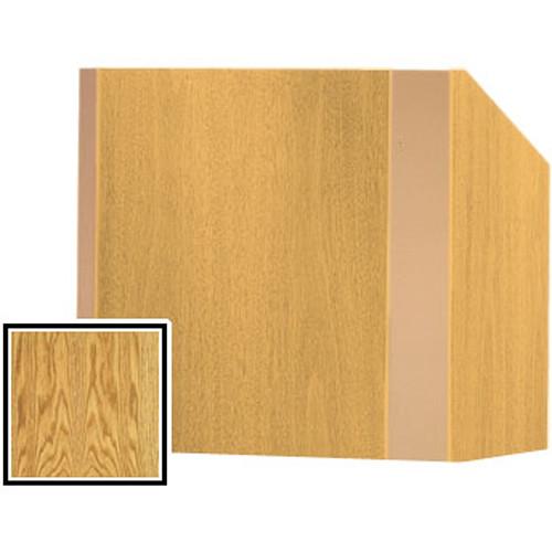 Da-Lite 25-in. Tabletop Model Yorkshire Lectern - Medium Oak