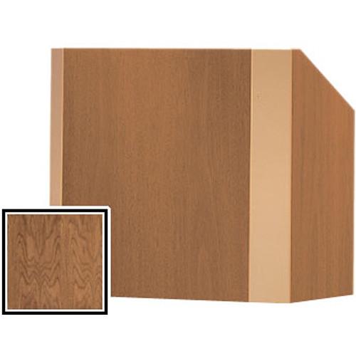 Da-Lite 25-in. Tabletop Model Yorkshire Lectern - Natural Walnut