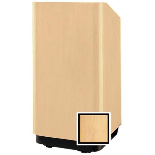 """Da-Lite Concord 42"""" Special Needs Floor Lectern with Height Adjustment (Honey Maple Veneer)"""