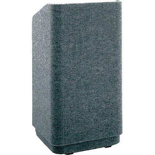 Da-Lite 42-in.Special Needs Floor Concord Lectern - Carpet Gray