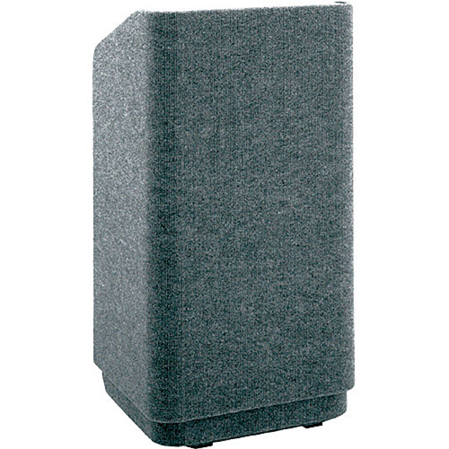 Da-Lite 42-in.Special Needs Floor Concord Lectern - Carpet Gray