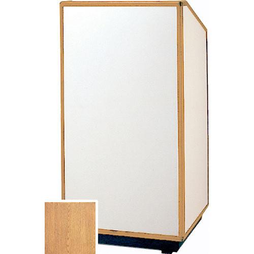 Da-Lite Da-Lite 42-in. Special Needs Floor Cambridge Lectern - Veneer Light Oak