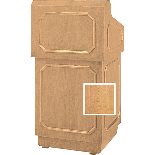 Da-Lite 42-in Hamilton Special Needs Floor Lectern - Light Oak