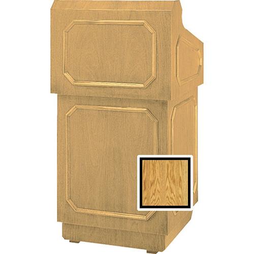Da-Lite 42-in Hamilton Special Needs Floor Lectern - Medium Oak