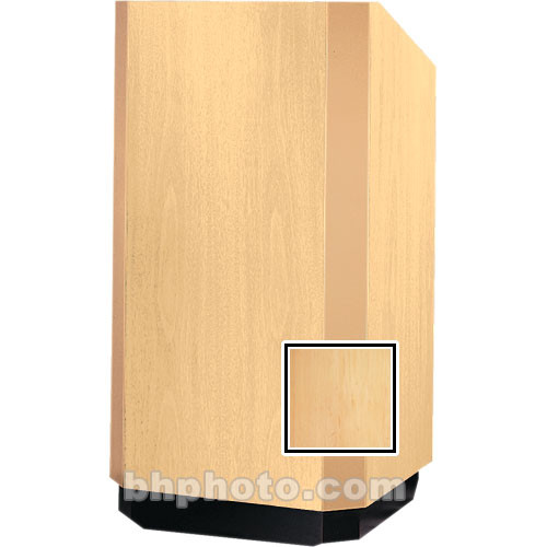 Da-Lite 42-in. Floor Model Yorkshire Lectern - Honey Maple Veneer