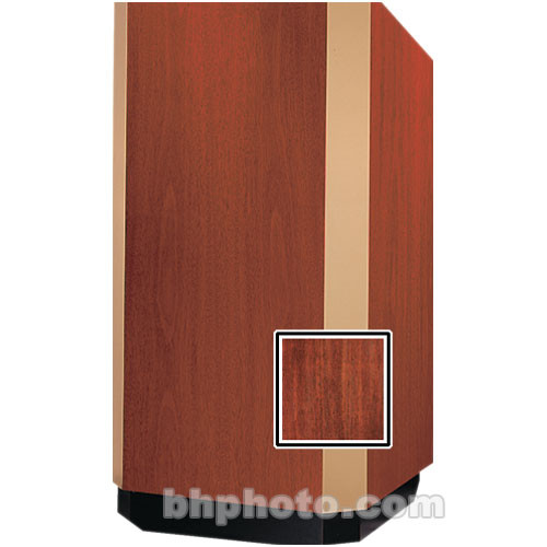 Da-Lite 42-in. Floor Model Yorkshire Lectern - Mahogany Veneer