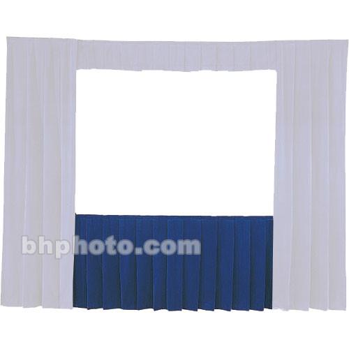Da-Lite Fast-Fold Standard and Deluxe Skirt Blue 77139BL
