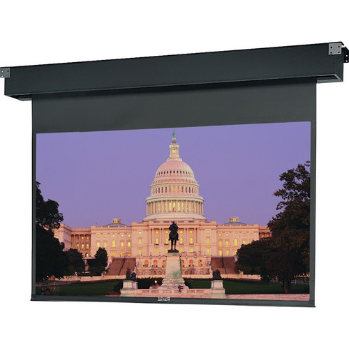 "Da-Lite 77661 Dual Masking Electrol Motorized Projection Screen (69 x 92/123"")"