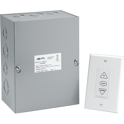 Da-Lite Dual Motor Low Voltage Control System (115VAC, 60Hz, 10A)