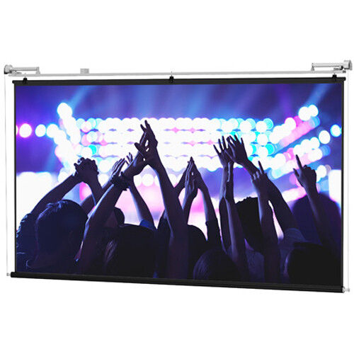 Da-Lite 80840 Motorized Scenic Roller Projection Screen (18 x 18')