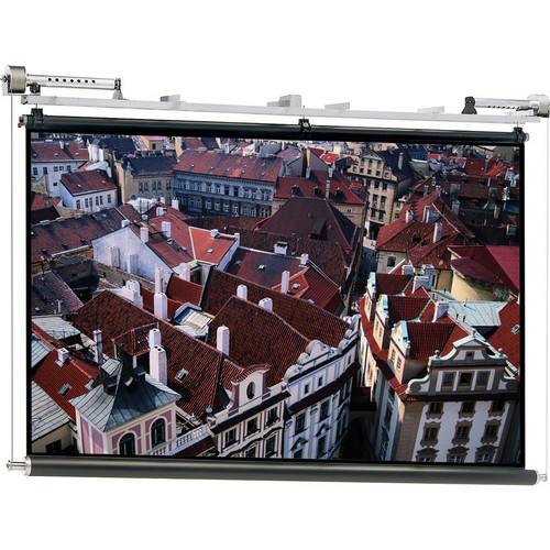 Da-Lite 80846E Motorized Scenic Roller Projection Screen (28 x 28')
