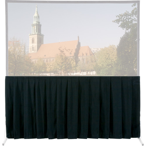Da-Lite Skirt Drapery for HD and Truss Deluxe Projection Screen (10 x 13', Black)