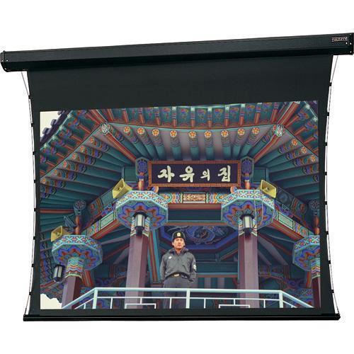 "Da-Lite 81096S Cosmopolitan Tensioned Electrol Motorized Projection Screen (84 x 84"")"
