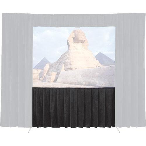 Da-Lite Skirt for the Fast-Fold Truss-Deluxe 7 x 9' Projection Screen (Black)