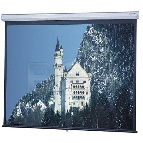 "Da-Lite 82972 Model C Manual Projection Screen (65 x 116"")"