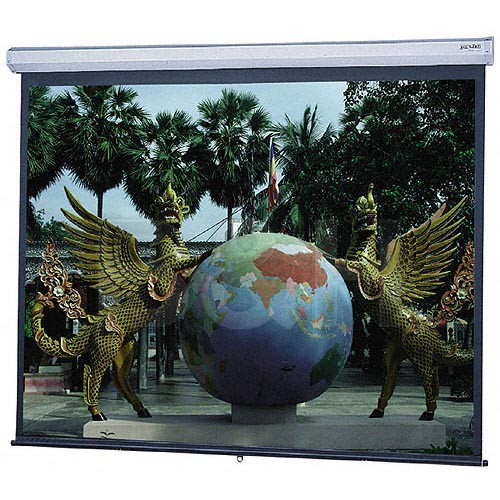 "Da-Lite 82979 Model C Manual Projection Screen (52 x 92"")"