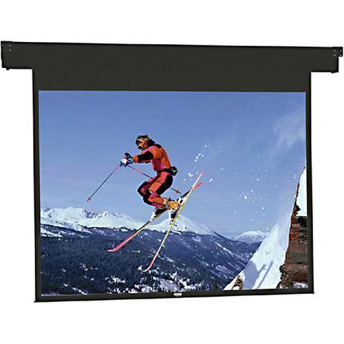"Da-Lite 83321 Horizon Electrol Motorized Masking Projection Screen (57"" Format Width)"