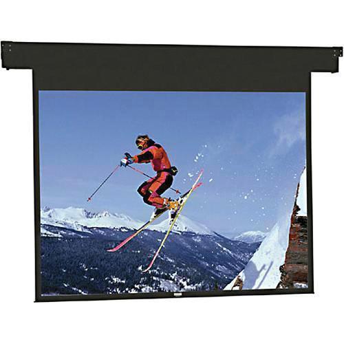 "Da-Lite 83368ES Horizon Electrol Motorized Masking Projection Screen (57"" Format Width)"