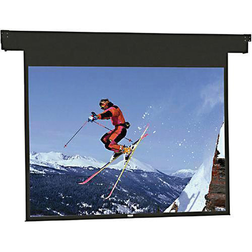 "Da-Lite 83370ES Horizon Electrol Motorized Masking Projection Screen (80"" Format Width)"