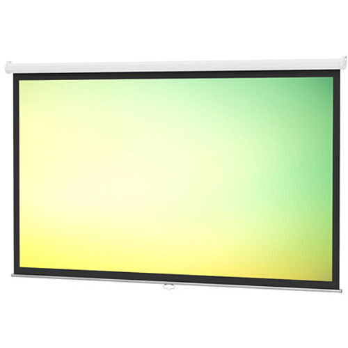 "Da-Lite 85308 Model B Manual Front Projection Screen (96x96"")"