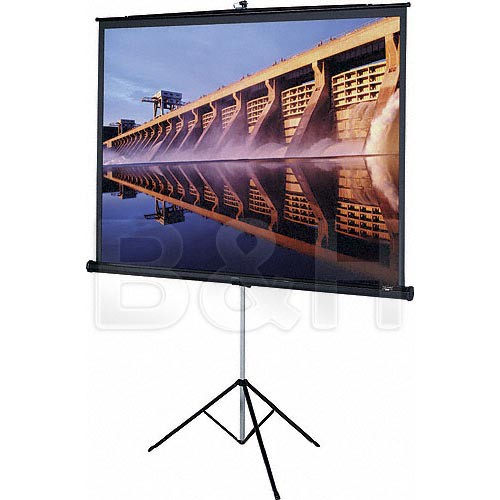 "Da-Lite 85425 Versatol Tripod Projection Screen (60 x 80"")"