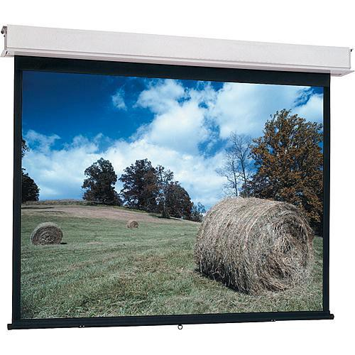 Da-Lite Advantage Manual Projection Screen with CSR (Controlled Screen Return) - 84 x 84""