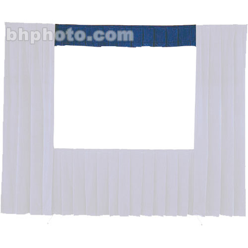 Da-Lite Fast-Fold® Standard and Deluxe Valance (Blue) 87350BL
