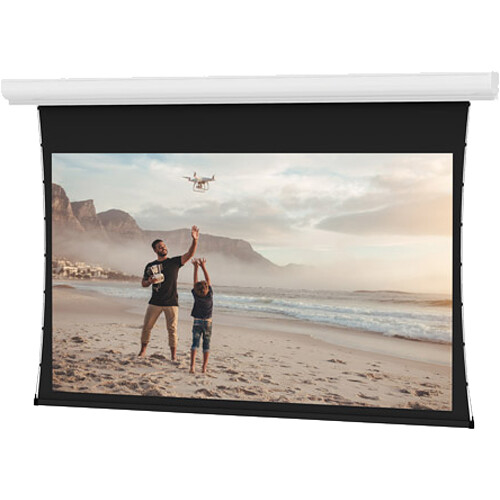 "Da-Lite Tensioned Contour Electrol 65 x 116"", 16:9 Screen with Da-Mat Projection Surface (120V)"