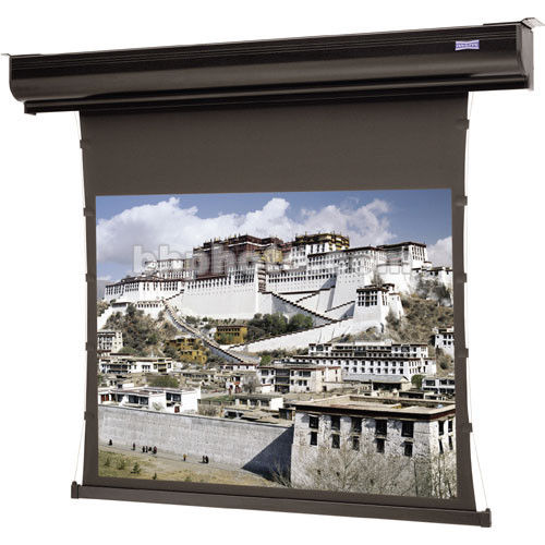 "Da-Lite Tensioned Contour Electrol 65 x 116"", 16:9 Screen with Pearlescent Projection Surface (120V)"