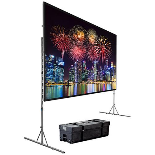"""Da-Lite 88605 Fast-Fold Deluxe Screen System (62 x 108"""")"""
