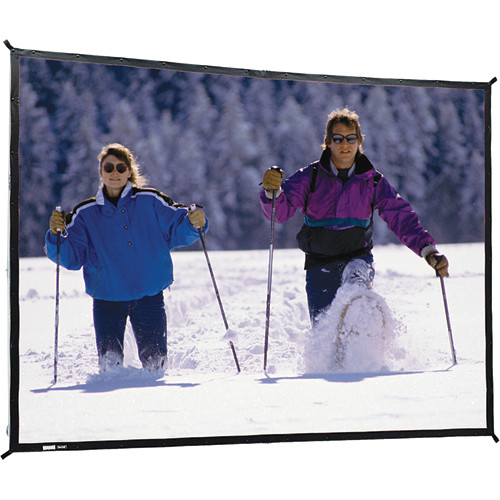 "Da-Lite 88617N Fast-Fold Deluxe Projection Screen (7'6"" x 10')"