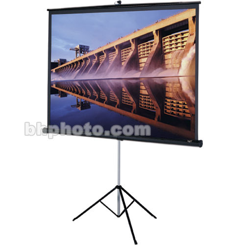 "Da-Lite 90615 Versatol Tripod Projection Screen (84 x 84"")"