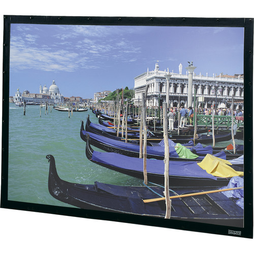 "Da-Lite 91544 Perm-Wall Fixed Frame Projection Screen (65 x 116"")"