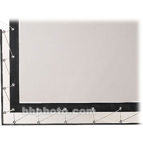 Da-Lite Lace and Grommet Screen Surface 91667