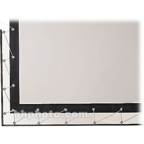 Da-Lite Lace and Grommet Screen Surface 91825