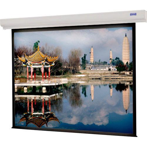 "Da-Lite Designer Contour Manual Screen with CSR (Controlled Screen Return) - 50 x 67"" - 84"" Diagonal - Video Format (4:3 Aspect) - Spectra"