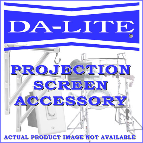 Da-Lite Wall Switch - Stainless Steel - Replacement