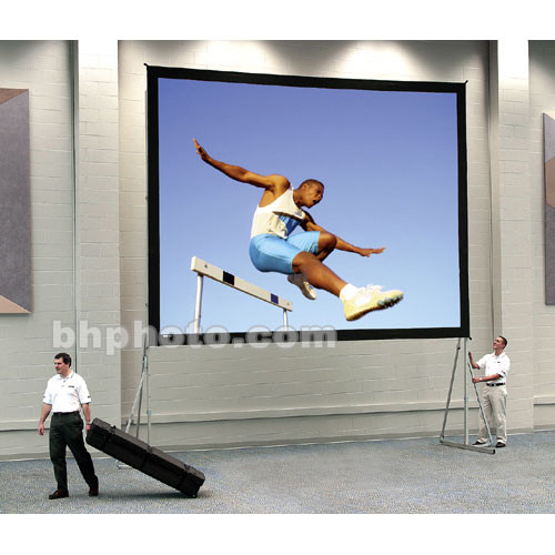 "Da-Lite Truss Deluxe Complete Screen Kit for Fast-Fold Portable Front Projection Screen - 11 x 11' - 187"" Diagonal - Square Format - DA-Mat"
