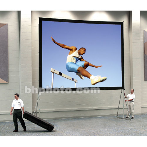 "Da-Lite Truss Deluxe Complete Screen Kit for Fast-Fold Portable Front Projection Screen - 10 x 13' - 197"" Diagonal - Square Format - DA-Mat"