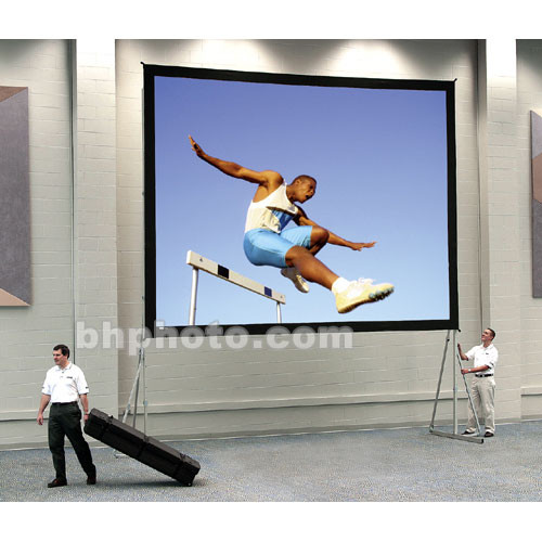 """Da-Lite Truss Deluxe Complete Screen Kit for Fast-Fold Portable Front and Rear Projection Screen - 7 x 9' - 137"""" Diagonal - Square Format - Dual Vision"""