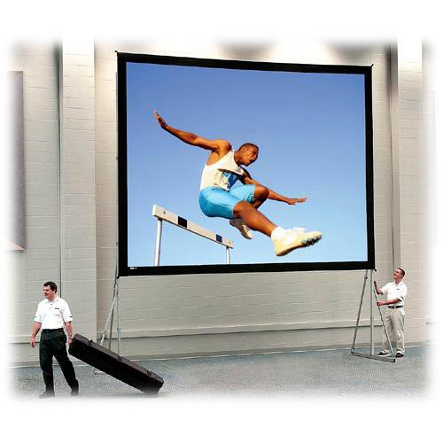 Da-Lite Heavy Duty Fast-Fold Deluxe Projection Screen (11 x 11')