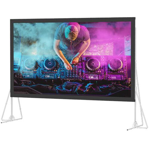 """Da-Lite 92149 Heavy Duty Fast-Fold Deluxe Screen System (108 x 192"""")"""