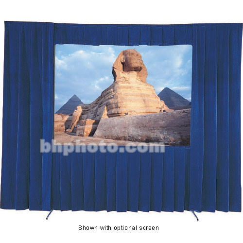 Da-Lite Fast-Fold Velour Drapery Kit for Heavy Duty Frames (13 x 13')