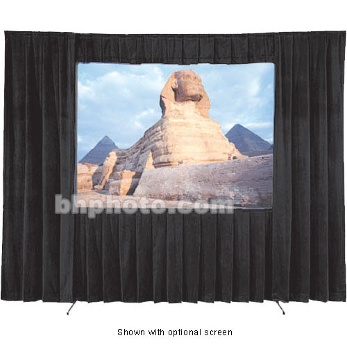 Da-Lite Fast-Fold Velour Drapery Kit for Heavy Duty Frames (19 x 25')