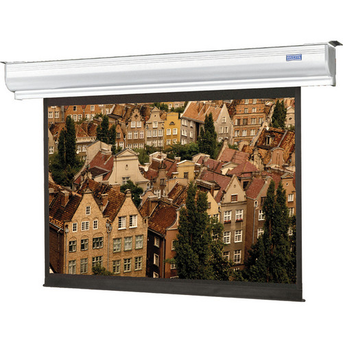 Da-Lite 92626ELS Contour Electrol Motorized Projection Screen (8 x 8')
