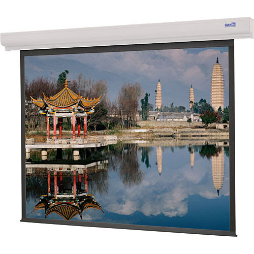"Da-Lite Designer Contour Electrol 43 x 57"" 4:3 Screen with High Contrast Matte White Surface (220V)"