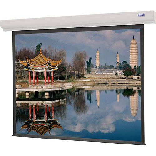 "Da-Lite Designer Contour Electrol 69 x 92"" 4:3 Screen with High Contrast Matte White Surface (220V)"